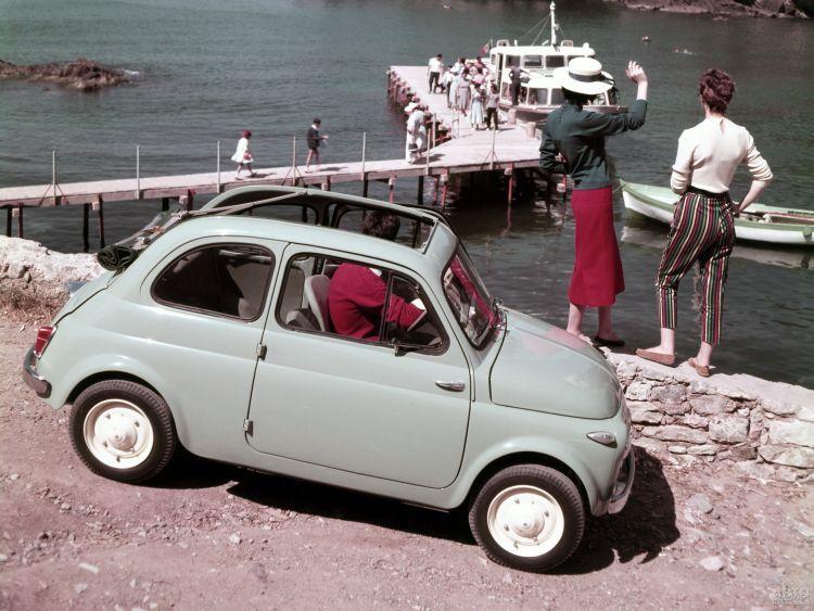 Fiat 500: миниатюрный итальянец