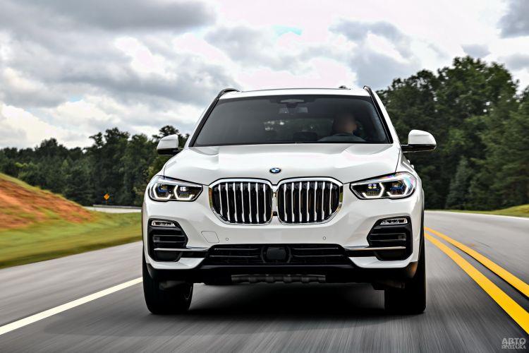 BMW X5, Mercedes-Benz GLE и Range Rover Sport: сравнение премиальных вседорожников