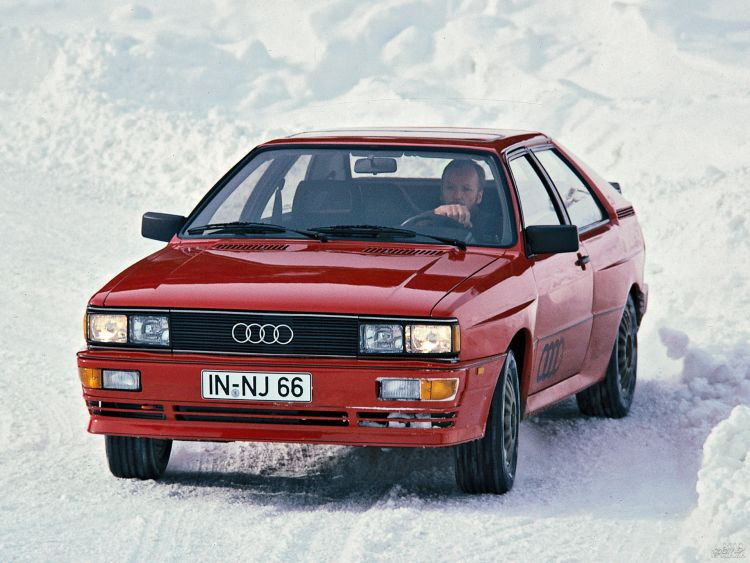 Audi Quattro: пионер полного привода