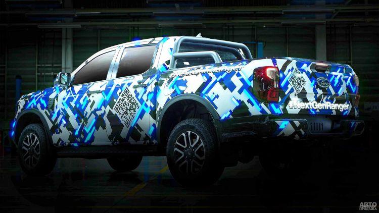 Первые фото Ford Ranger нового поколения