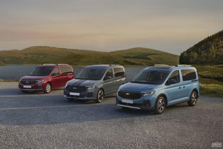 Ford Tourneo Connect: третье поколение