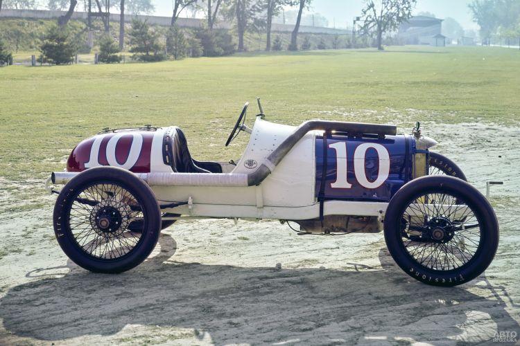 Первый гоночный Duesenberg 1914 года