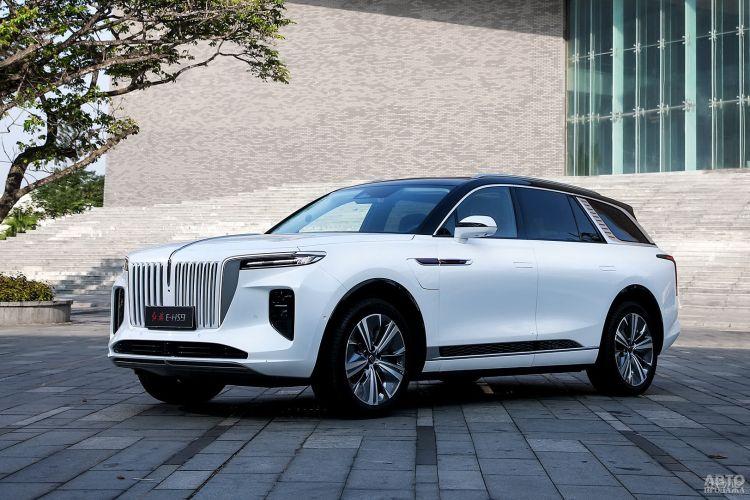 Hongqi e-HS9: китайский электромобиль высшего класса