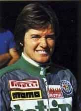 Лолла Ломбарди, провела два сезона 1975-го и 1976-го годов за рулем болида команды March
