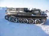 В Антарктиде нашло свое применение немало модифицированной военной техники