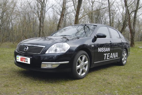 Nissan Teana (2003-2008): японский бизнесмен