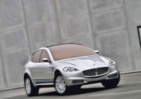 Maserati готовит вседорожник