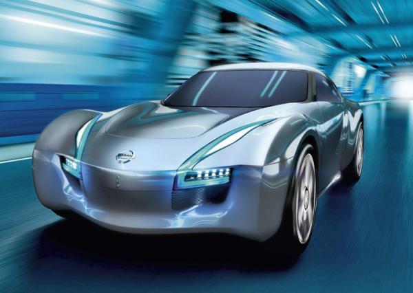 Nissan Esflow Concept: электрическое спорткупе
