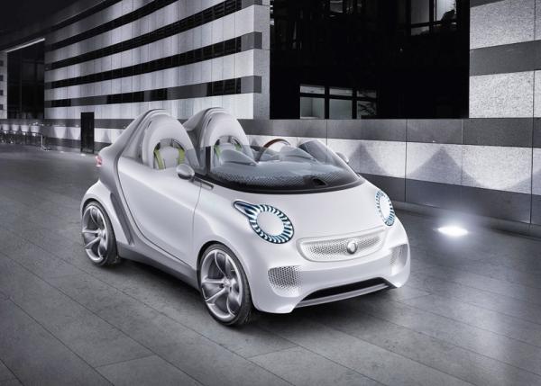Smart Forspeed: городской электромобиль