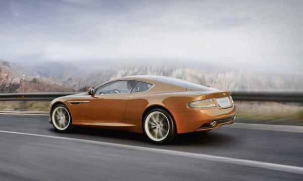 Aston Martin Virage – улучшенный DB9