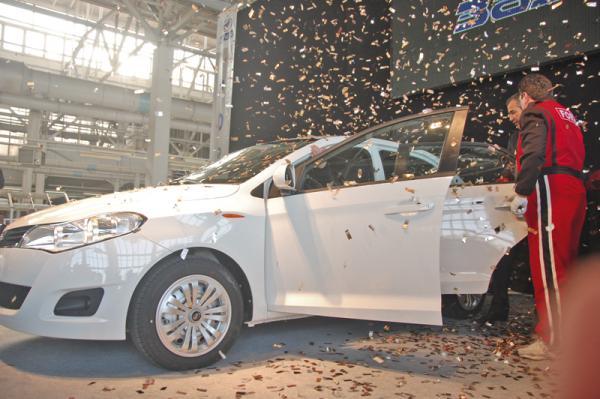Седан ЗАЗ Forza поступил в продажу