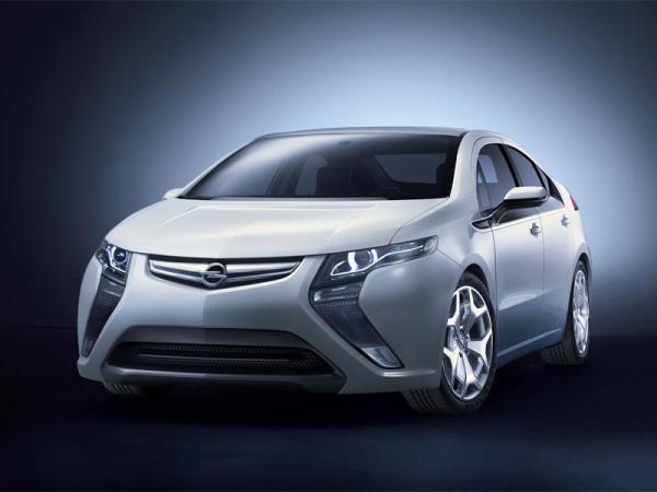 Продажи гибридного Opel Ampera начнутся уже в 2011 году