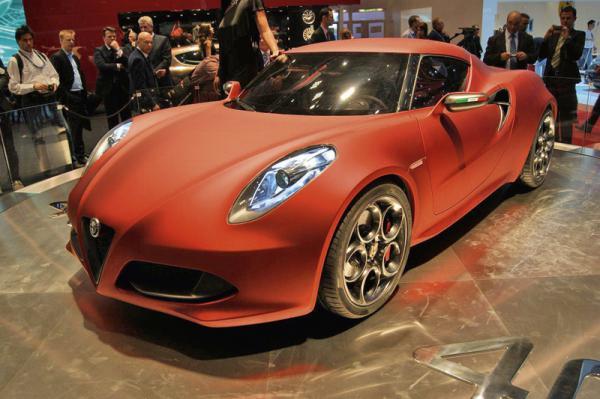 Женевский автосалон – 2011 Alfa Romeo