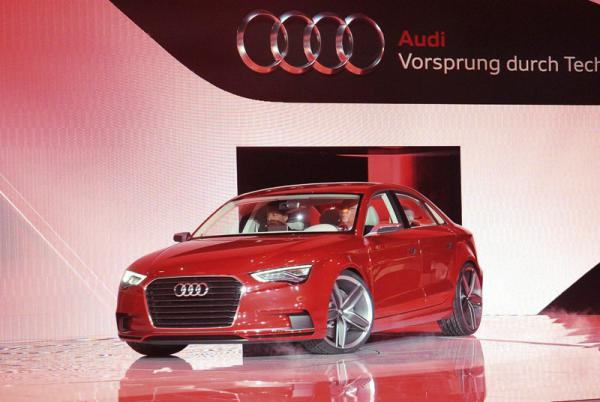 Женевский автосалон - 2011 Audi