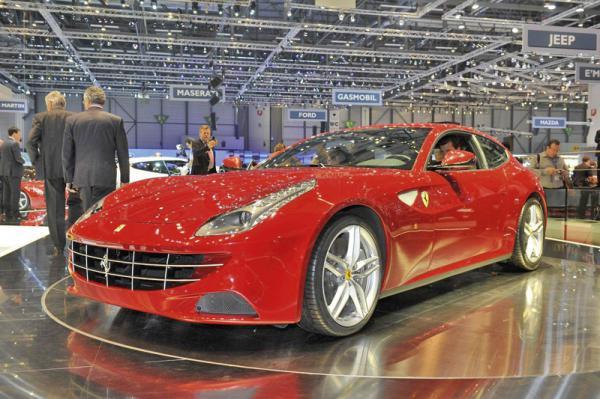 Женевский автосалон - 2011 Ferrari