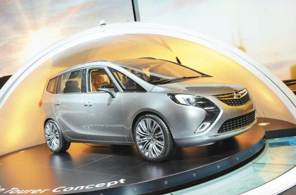 Женевский автосалон – 2011: Opel