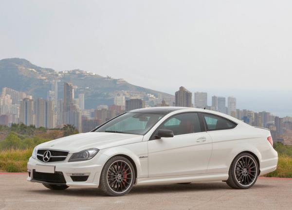 Самый мощный Mercedes-Benz C-Class Coupe