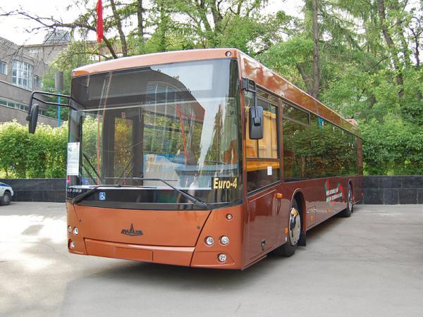 Киев закупит автобусы МАЗ 203