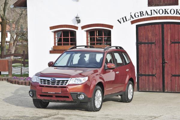 Subaru Forester 2011 уже в Украине!