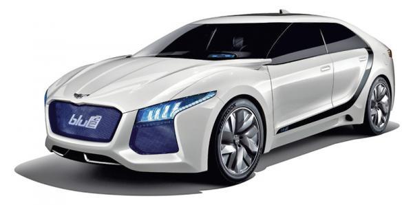 Hyundai показала в Сеуле концепткар Blue2