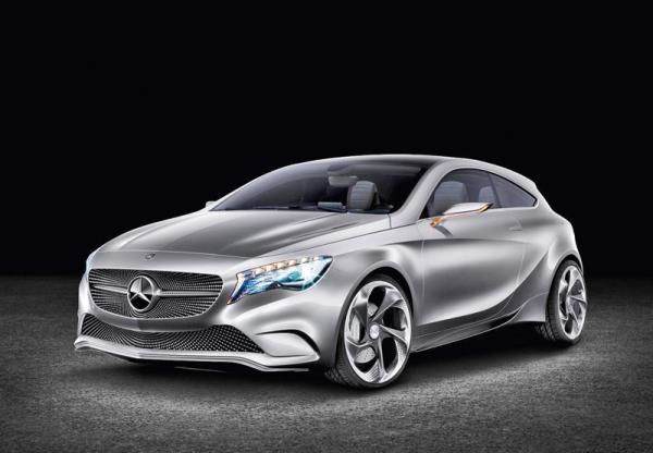Mercedes-Benz A-Class Concept: смена образа