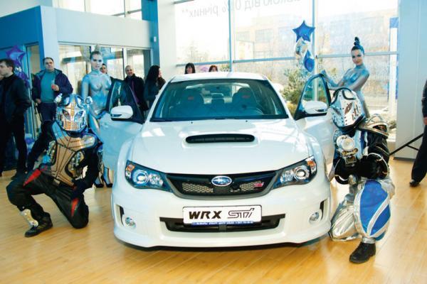 В Харькове открылся 3S центр Subaru