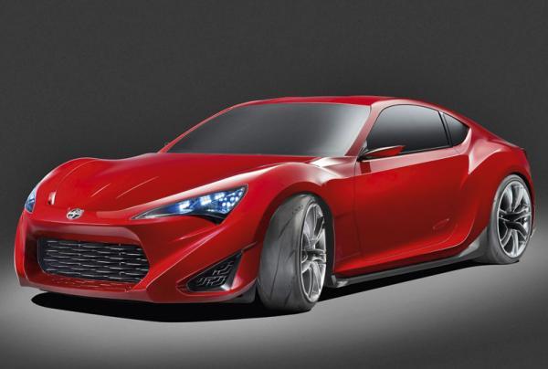 Концепт спорткара Toyota FR-S представлен в Нью-Йорке