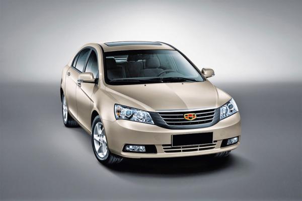 Geely представит в Украине четыре новые модели
