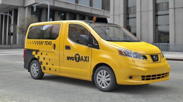 Знаменитое желтое нью-йоркские такси обзаведется мини-вэнами Nissan