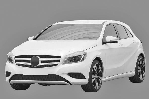 Первые изображения Mercedes-Benz A-Class