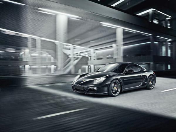 Porsche Cayman S Black Edition в июле поступит в продажу