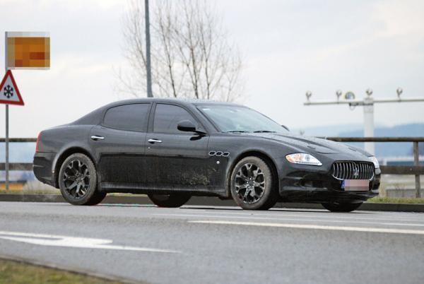 Maserati готовит компактный седан