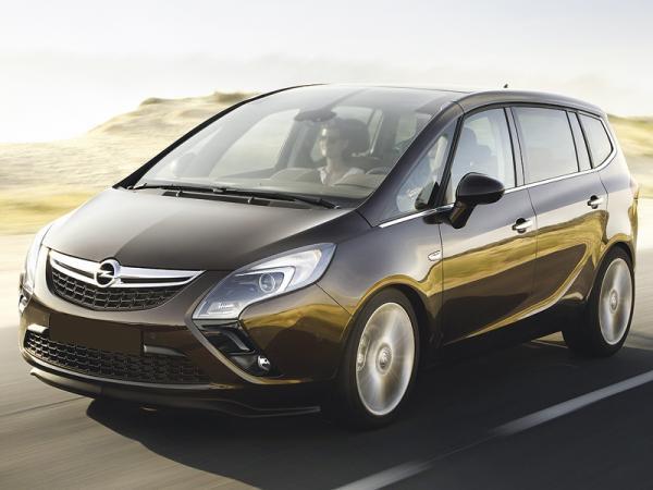 Opel Zafira: третье поколение