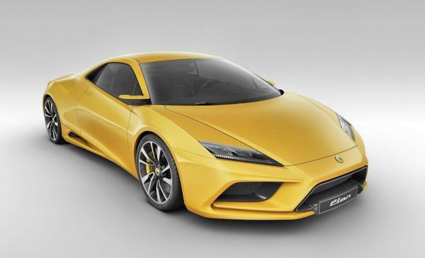 Купе Lotus Elan появится в 2016 году