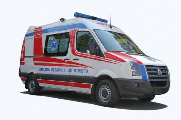 Volkswagen представил в Украине автомобили скорой помощи