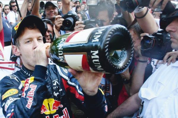 F1: Себастьян Феттель вновь доказал: везет сильнейшим