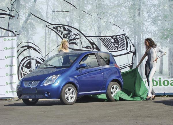 Серийные электромобили уже в Украине