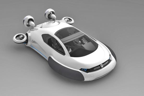 Volkswagen Aqua: вседорожник на воздушной подушке
