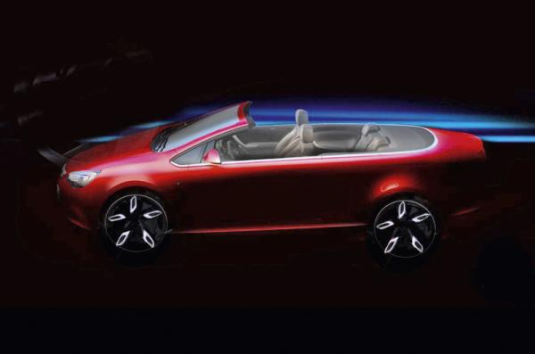 Кабриолет Opel Astra получит мягкий верх