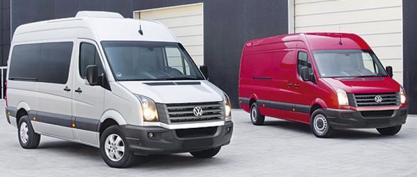 Volkswagen Crafter: модернизация