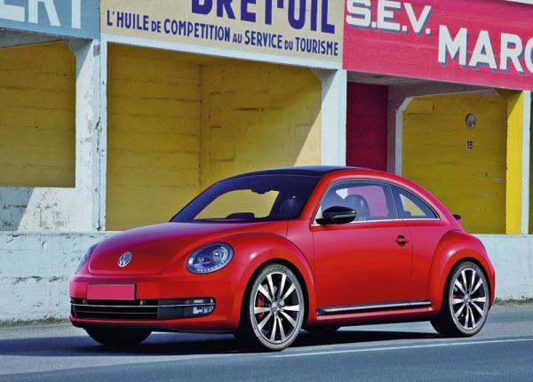 Volkswagen New Beetle возвращается в Украину