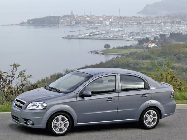 Chevrolet Aveo получит новое имя