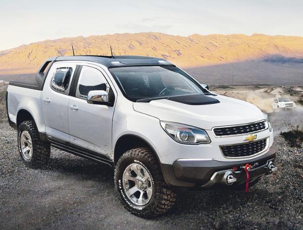 Chevrolet Colorado Rally: готов к марафонским соревнованиям
