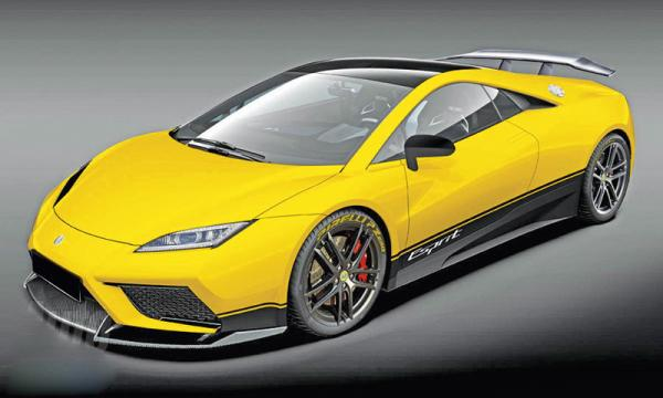 Lotus Esprit Superleggera станет самым быстрым