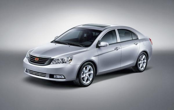 Geely объявила цены на Emgrand EC7 в Украине