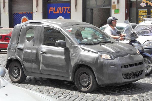 Новая Fiat Panda проходит тестовые испытания