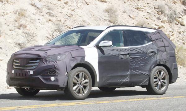 Hyundai Santa Fe первые фото нового поколения