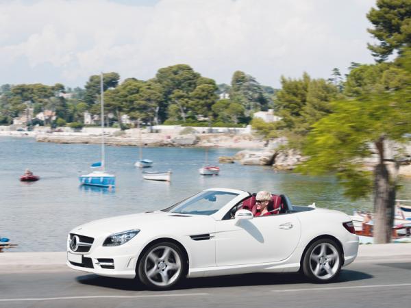Mercedes-Benz SLK получил турбодизель