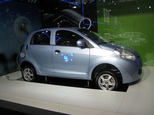 В сентябре электромобиль Chery M1 EV представят в Украине