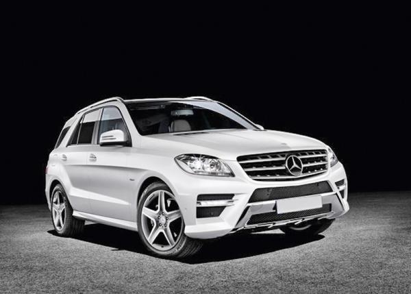 Украина – первая страна в Европе, где широкая публика увидит новое поколение Mercedes-Benz ML